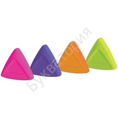 """Ластик Berlingo """"Arrow"""", треугольный, термопластичная резина, 40*35*10мм, арт. BLc_00310"""