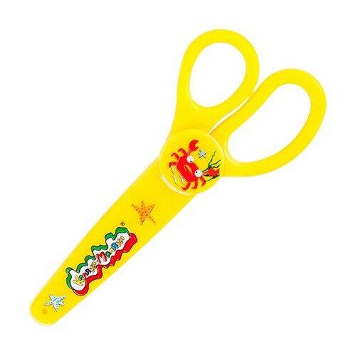 Ножницы Каляка-Маляка с чехлом, 10 см, НЧКМ