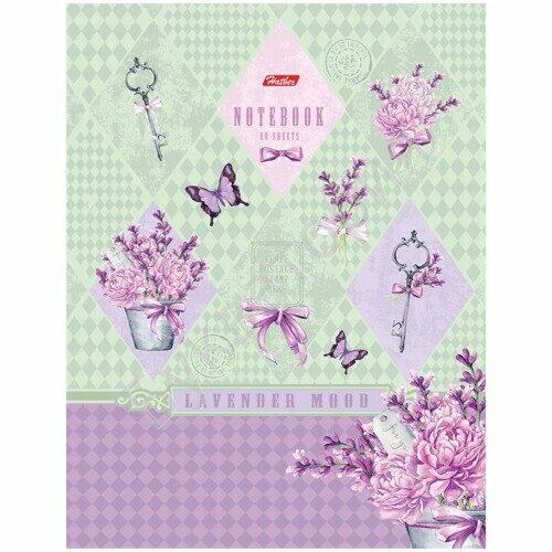 """Бизнес-блокнот Hatber """"Little secret"""",А5, 80л., 5-ти цветный блок, арт. 80ББ5В1_16589"""