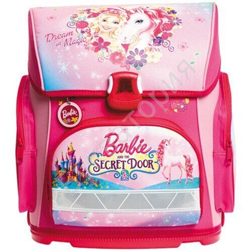 """Ранец Hatber Optimum """"Barbie - The Secret Door"""" 37*30*17см, 1 отделение, 3 кармана, анатом. спинка, арт. NRk_20628"""
