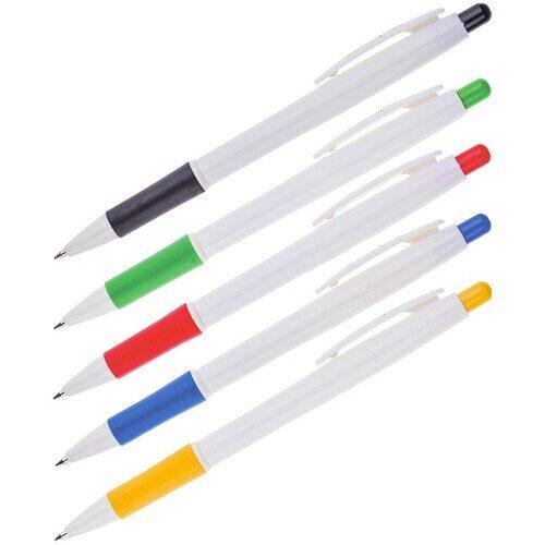 Ручка шариковая автоматическая OfficeSpace синяя, арт. BPRWH115_1340