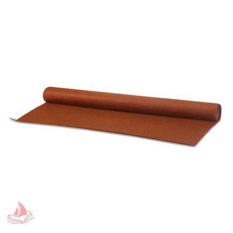 Фетр для творчества в рулоне, 500х700 мм, BRAUBERG/ОСТРОВ СОКРОВИЩ, толщина 2 мм, коричневый, арт. 660632