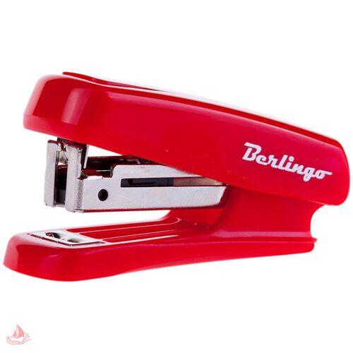 Мини-степлер Berlingo №10 до 10 л, пластиковый корпус, ассорти, DSn_10029