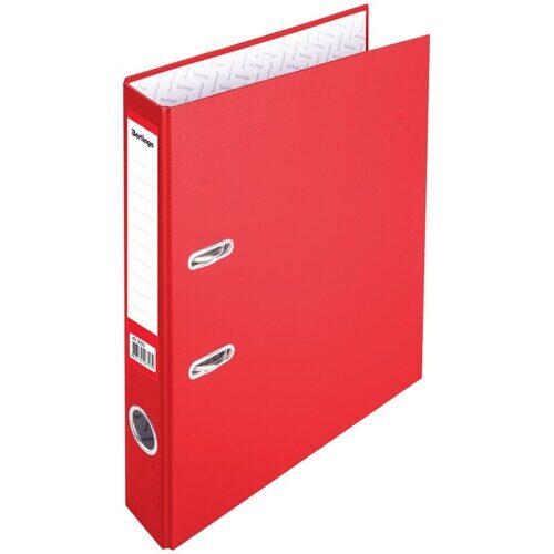 """Папка-регистратор Berlingo """"Profit"""", 50мм, бумвинил, красная, арт. ATb_50303"""