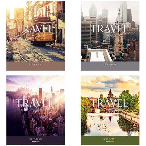 """Тетрадь ArtSpace """"Путешествия. Adventure time"""", А5, 48л, матовая ламинация"""