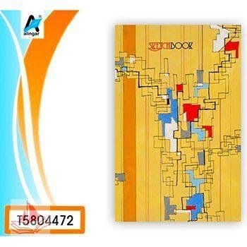 Скетчбук Канц-Эксмо А5+ 7БЦ 80л Абстракция без линовки, обложка - матовый ламинированный картон, сшивка, офсет,  арт. Т5804472