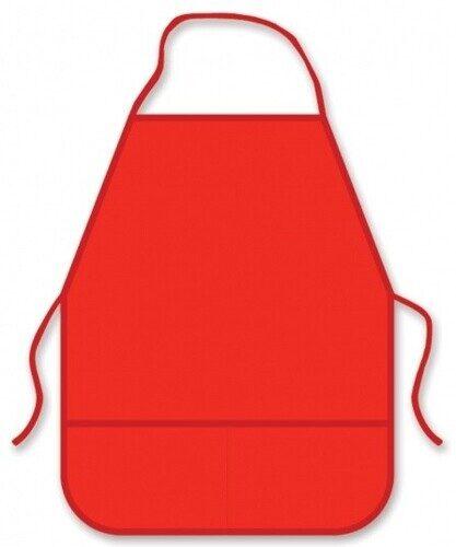 Фартук для труда Пчелка ФДТ-1 красный, ткань