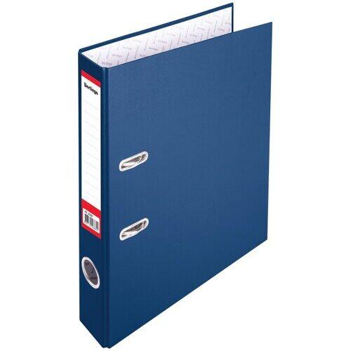 """Папка-регистратор Berlingo """"Profit"""", 50мм, бумвинил, синяя, арт. ATb_50302"""