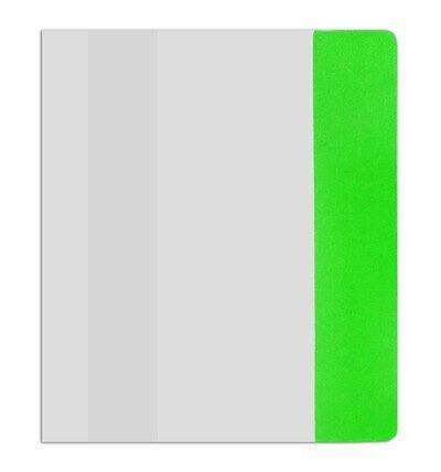 Обложка для учебников универсальная, полиэтиленовая 22,0 см*470 см (150 мкм) с цветным клапаном (ассорти)