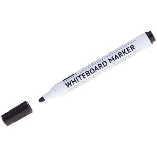 Маркер для белых досок OfficeSpace черный, пулевидный, 2,5мм, арт. WBM_9500