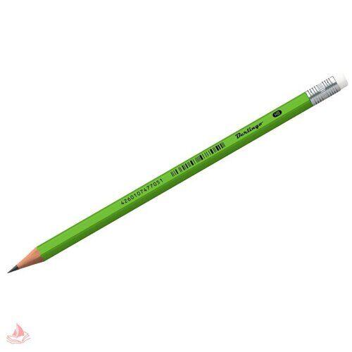 """Карандаш ч/г Berlingo """"Office soft"""" HB, с ластиком, заточен., пластиковый, арт. BP01015"""