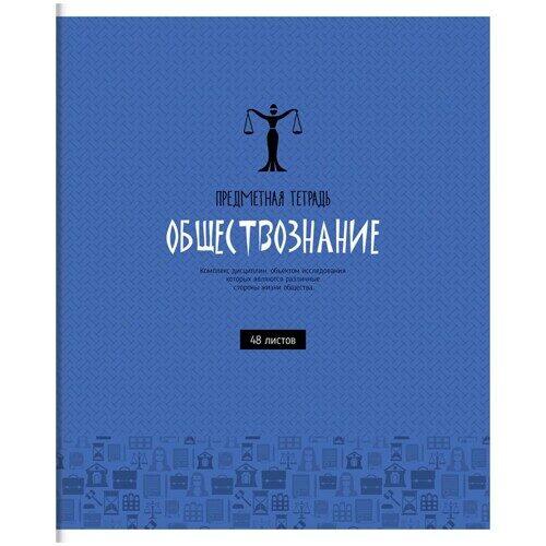 """Тетрадь предметная ArtSpace """"Оттенки знаний"""" - Обществознание, 48 листов, ВД-лак, арт. Тп48к_24068"""