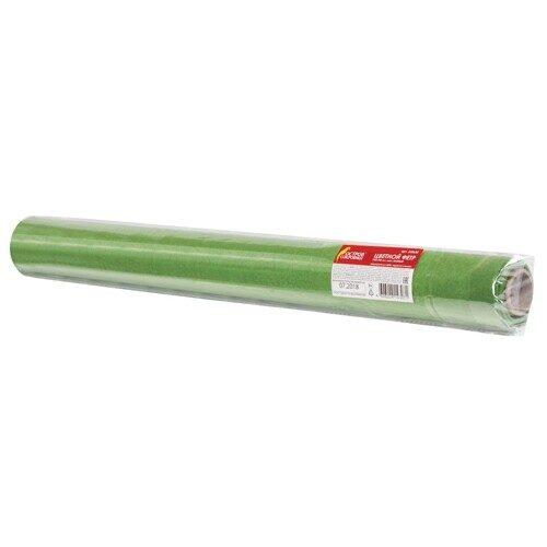 Фетр для творчества в рулоне, 500х700 мм, BRAUBERG/ОСТРОВ СОКРОВИЩ, толщина 2 мм, зеленый, арт. 660630