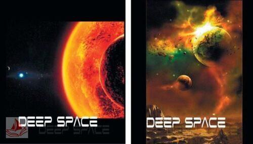 Тетрадь Пересвет А5 96л эконом SPACE (ассорти), клетка, скрепка, Т96-613