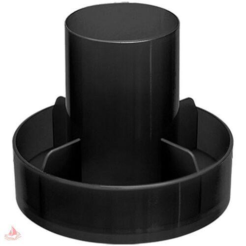 "Настольная подставка Стамм ""Метеор"", черный, ОФ555"