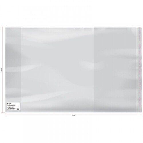 Обложка для учебников универсальная, с липким слоем 26,5 см*45 см, ПП 70мкм