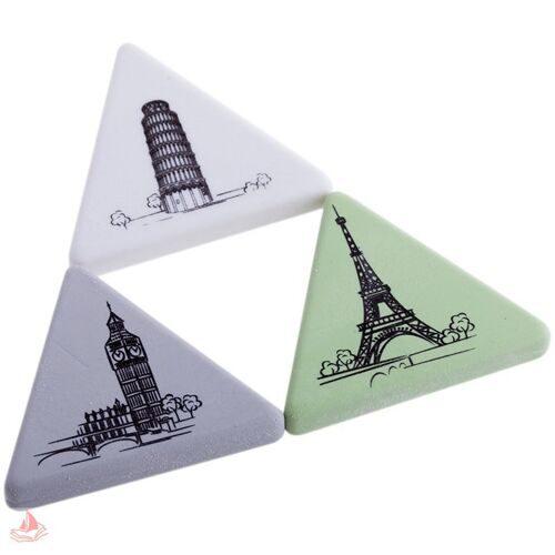 "Ластик Berlingo ""Triangle XL"", треугольный, термопластичная резина, 55*55*55*9мм, арт. BLc_00120"