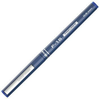 Ручка капилярная Erich Krause F-15 синяя 0,6мм, на водной основе, арт. 37065