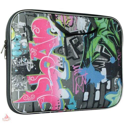 """Папка с ручками ArtSpace """"Граффити"""" А4, ткань-нейлон, арт. 236906"""