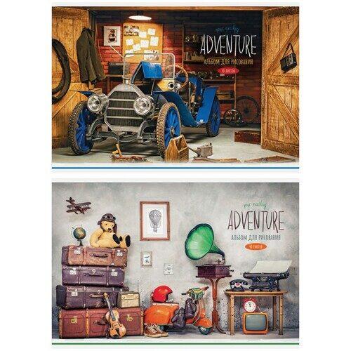 """Альбом для рисования ArtSpace """"Стиль. Your hobbies"""" 40л, А4, на скрепке, арт. А40_26244"""