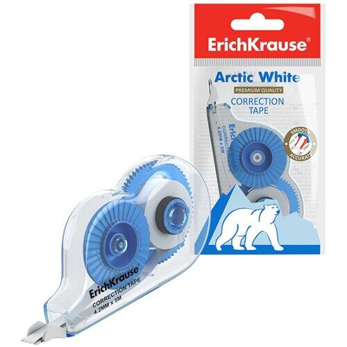 "Корректирующая лента Erich Krause ""Techno White Mini"", 4,2мм*5м, 21885"